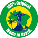 100% Original. Made in Brazil.